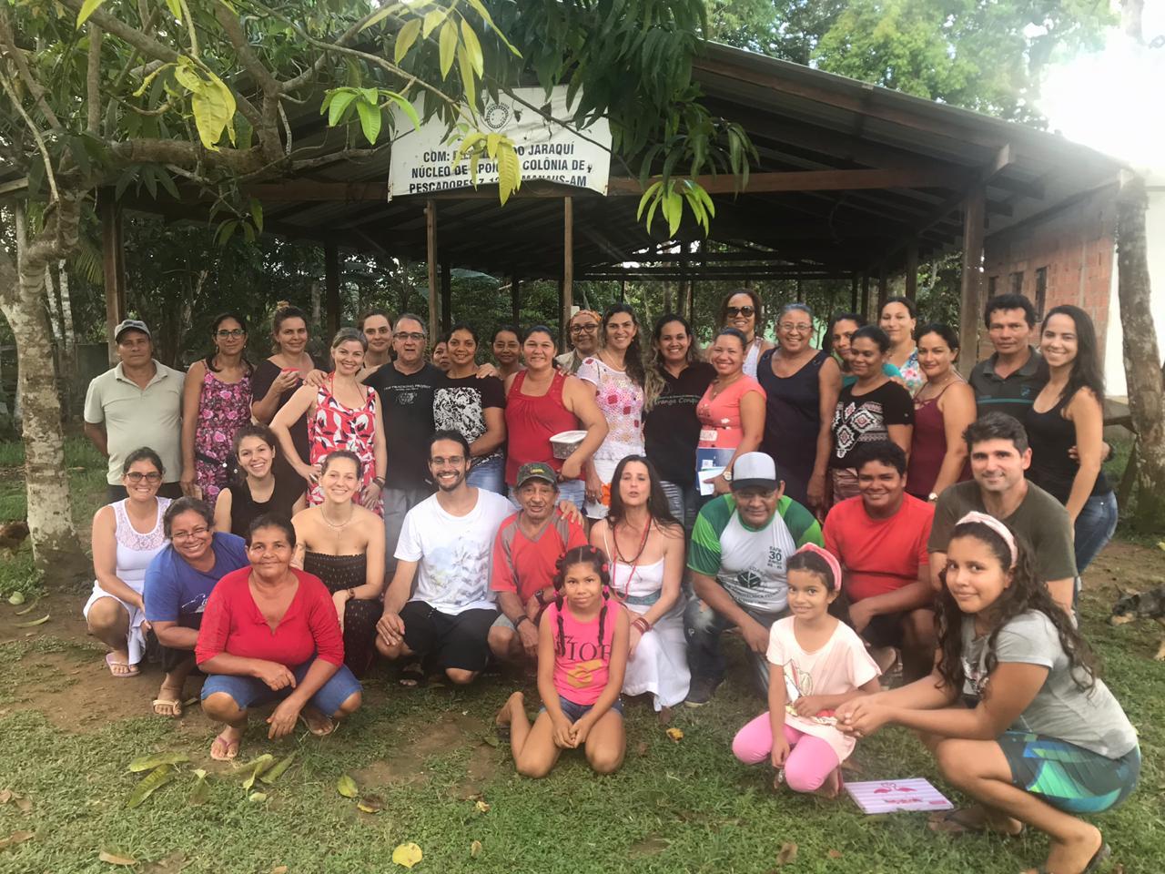 Unidade de conservação estadual recebe intercâmbio sobre medicina tradicional dos povos da Amazônia e da Índia